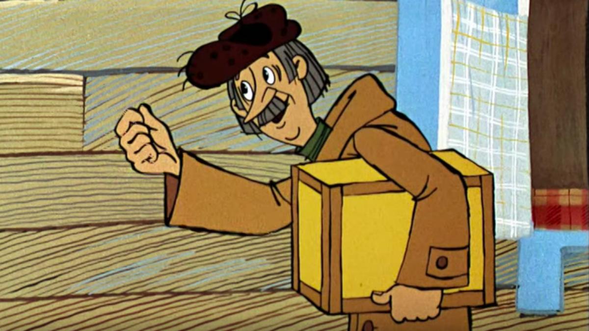 это я почтальон печкин рисунок управления фотоаппаратом