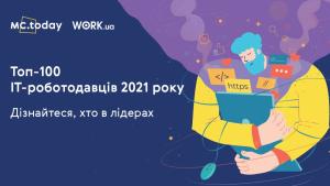 15 найкращих IT-роботодавців України—рейтинг MC.today і Work.ua