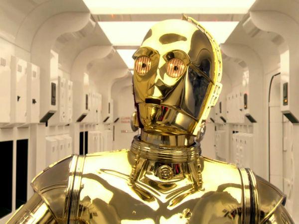 Кадр из фильма «Звёздные войны. Эпизод IV: Новая надежда», реж. Джордж Лукас, 1977 г.