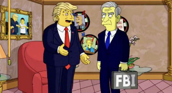 Кадр из мультсериала «Симпсоны», 1989 г.
