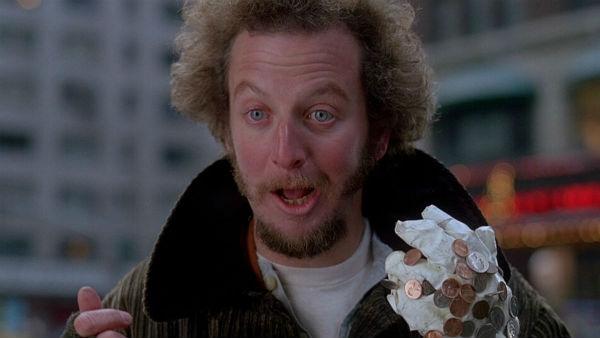 Кадр из фильма «Один дома-2», реж. Крис Коламбус, 1992 г.
