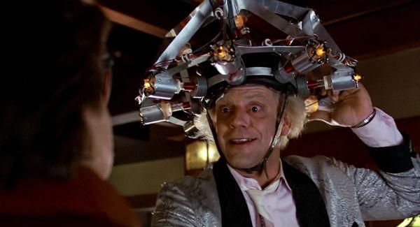 Кадр з фільму «Назад у майбутнє», реж. Роберт Земекіс, 1985 р.