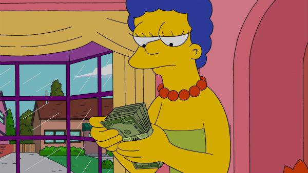 Кадр з мультфільму «Сімпсони»