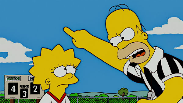 *Зображення з м/ф The Simpsons, 1989 p.
