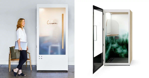 На фото Calm Booth by Room
