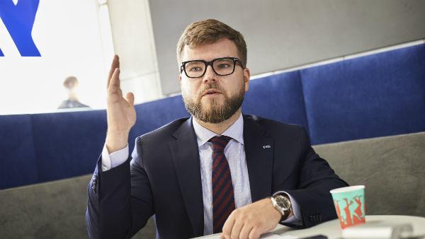 Євген Кравцов, колишній голова правління компанії