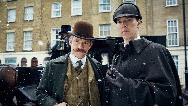 Зображення з т/с Sherlock, 2010-2017 р.